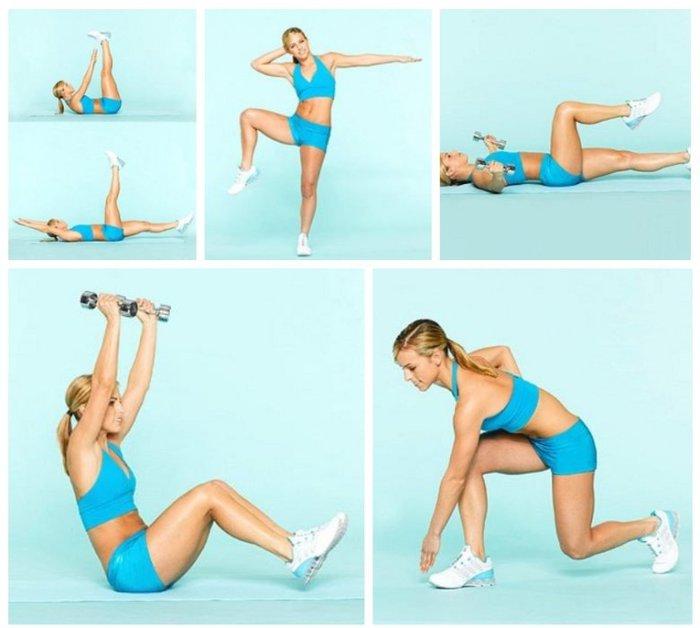 Как сделать ножки и живот худыми