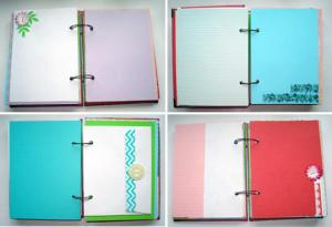 как сделать личный дневник +из обычной тетради