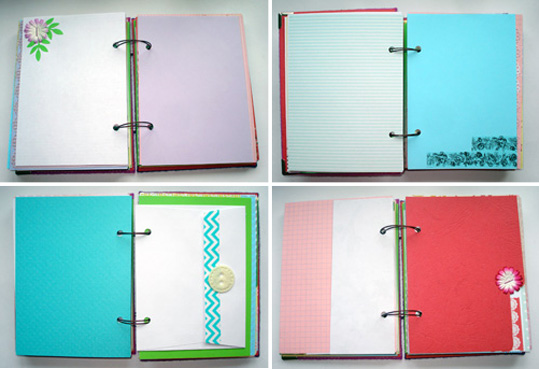 Как сделать личный дневник своими руками из бумаги а4