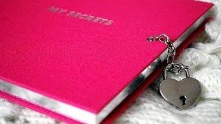 как сделать личный дневник +из тетради