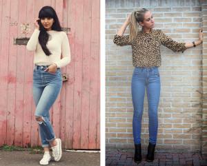что можно одеть с джинсами девушке