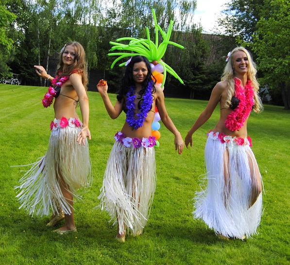 Из чего сделать гавайские юбки своими руками