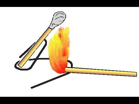 Как сделать ракету из спичек и фольги?