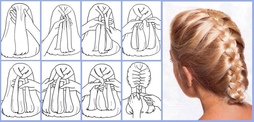 Как сделать косички красивыми