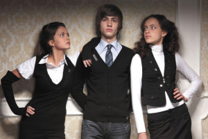 как одеться +в школу модно подросткам