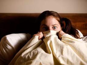почему страшно спать ночью одному