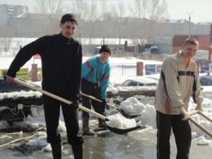 как заработать +на уборке снега
